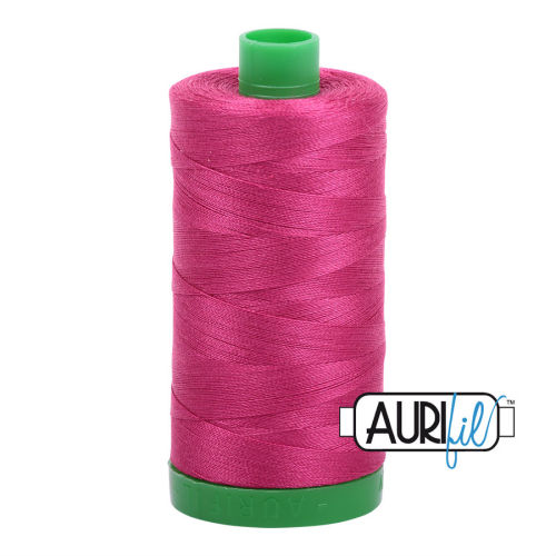 Aurifil Cotton 40wt, 1100 Red Plum