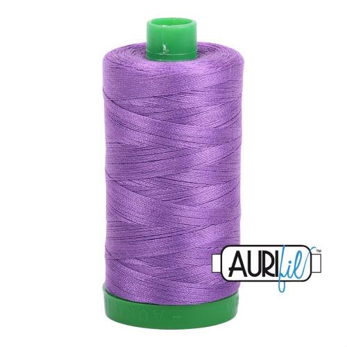 Aurifil Cotton 40wt, 2540 Medium Lavender