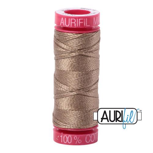 Aurifil Cotton 12wt, 2370 Sandstone