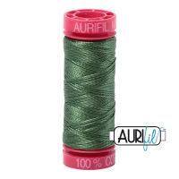 Aurifil Cotton 12wt, 2890 Very Dark Grass Green
