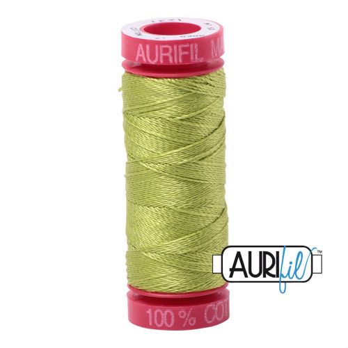 Aurifil Cotton 12wt, 1231 Spring Green