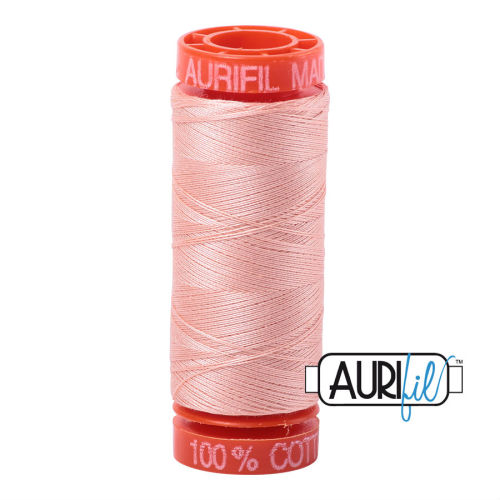 Aurifil Cotton 50wt, 2420 Fleshy Pink