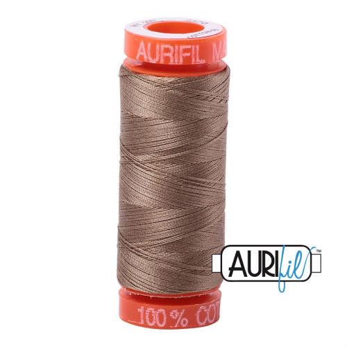Aurifil Cotton 50wt, 2370 Sandstone