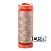 Aurifil Cotton 50wt, 2326 Sand