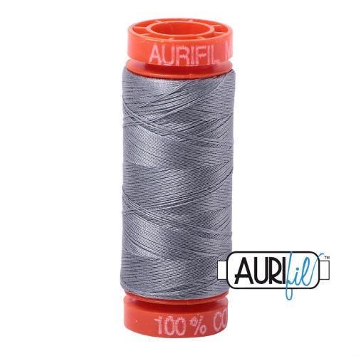 Aurifil Cotton 50wt, 2605 Grey