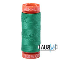 Aurifil Cotton 50wt, 2865 Emerald