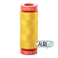 Aurifil Cotton 50wt, 2120 Canary