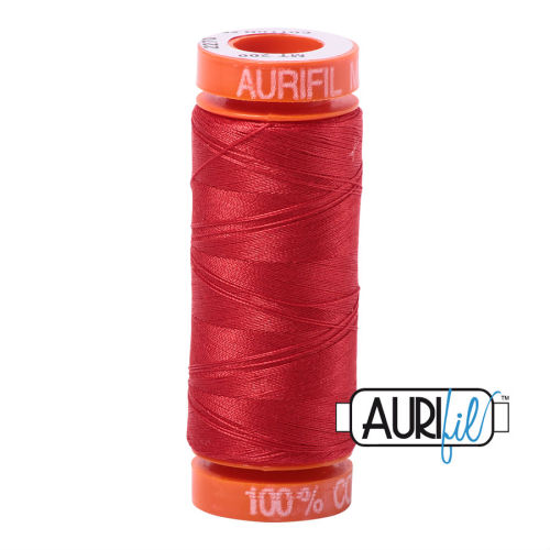 Aurifil Cotton 50wt, 2270 Paprika