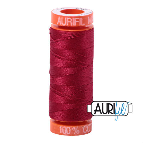 Aurifil Cotton 50wt, 2260 Red Wine