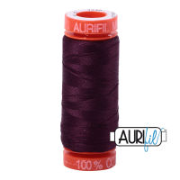 Aurifil Cotton 50wt, 1240 Very Dark Eggplant