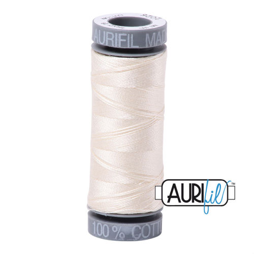 Aurifil Cotton 28wt, 2026 Chalk