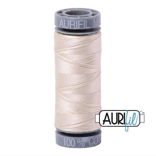 Aurifil Cotton 28wt, 2310 Light Beige