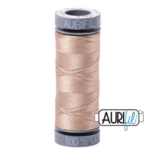 Aurifil Cotton 28wt, 2314 Beige