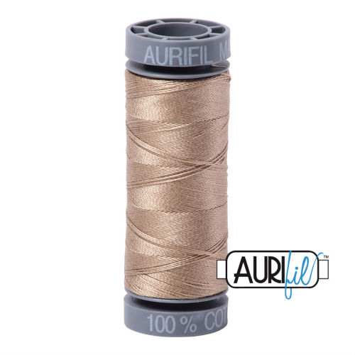 Aurifil Cotton 28wt, 2325 Linen