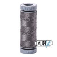Aurifil Cotton 28wt, 5004 Grey Smoke