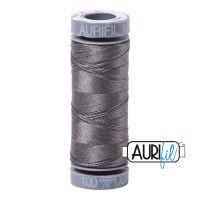 Aurifil Cotton 28wt, 5004 Grey Smoke