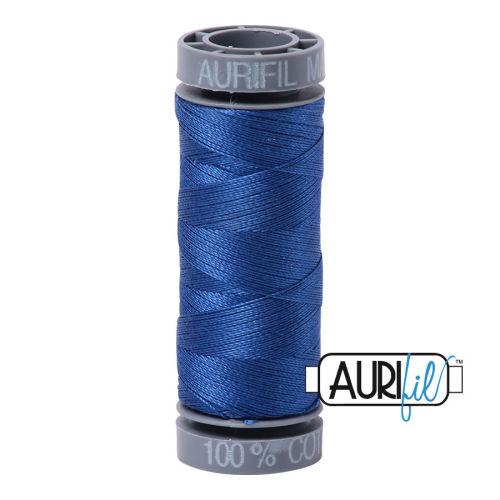 Aurifil Cotton 28wt, 2735 Medium Blue