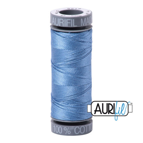 Aurifil Cotton 28wt, 2725 Light Wedgewood