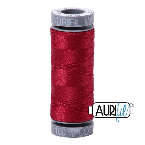 Aurifil Cotton 28wt, 2260 Red Wine
