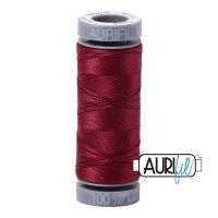 Aurifil Cotton 28wt, 2460 Dark Carmine Red
