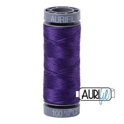 Aurifil Cotton 28wt, 2582 Dark Violet