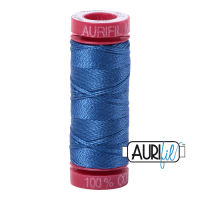 Aurifil Cotton 12wt, 2730 Delft Blue