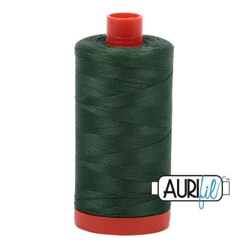 Aurifil Cotton 50wt, 2892 Pine