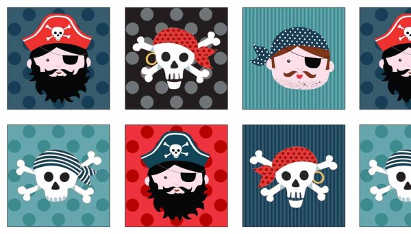 The Henley Studio - Pirate Labels