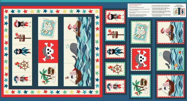 The Henley Studio - Pirate Pocket Panel
