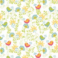Cherry Blossom Quilt Studio - Sunday Ride - Birds