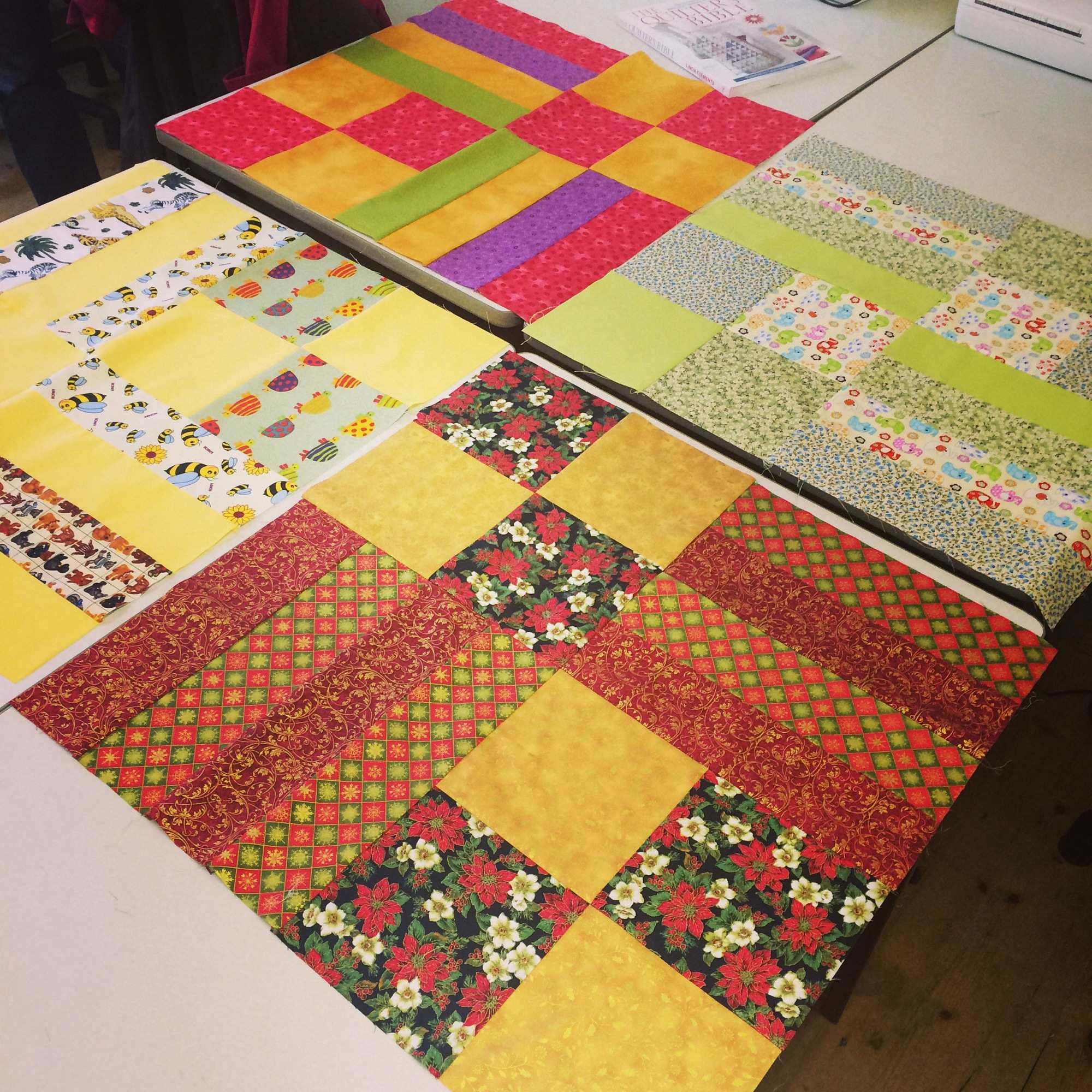 Patchwork Quilting Beginners Classes: Exeter Sewing: Patchwork & Quilting For Beginners