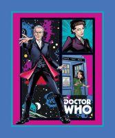 Character Prints - Dr Who Panel