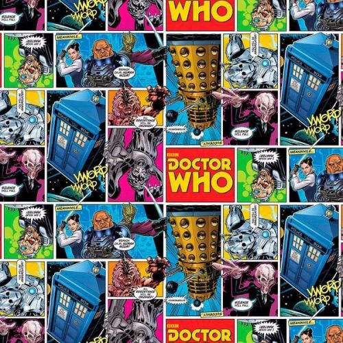 Character Prints - Dr Who - Comics