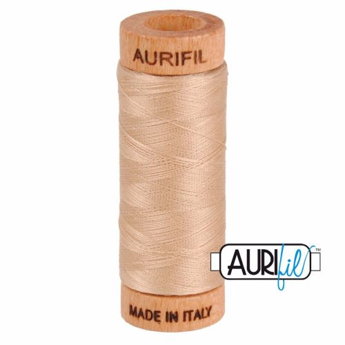 Aurifil Cotton 80wt, 2314 Beige