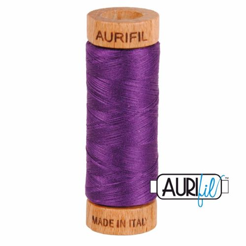 Aurifil Cotton 80wt, 2545 Medium Purple