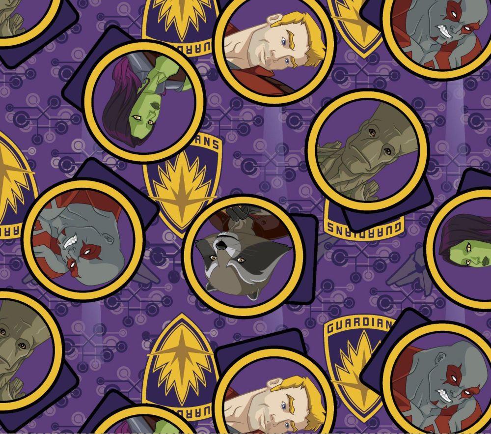 Character Print - Marvel - Guardian Gang - 57250