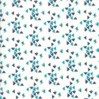 Moda - Spectrum - No. 10862-23 (Indigo On Paper Triangles)