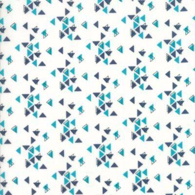 Moda - Spectrum - Triangles - Indigo Paper - 1086223