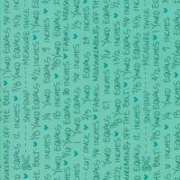 Moda - Spectrum - No. 10863-18 (Teal Notes)