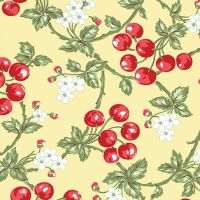 Benartex - Simply Chic - Cherries Butter - 3813