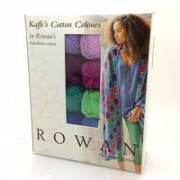 Diagonal Bubbles Wrap Knitting Kit - Kaffe Fassett Colours - Handknit Cotton