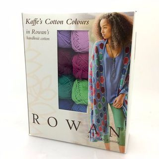 Diagonal Bubbles Wrap Knitting Kit - Kaffe Fassett Colours - Handknit Cotton