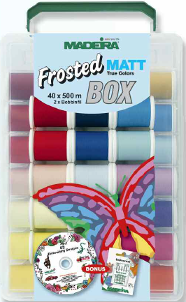 Madeira Frosted Matt True Colours Box