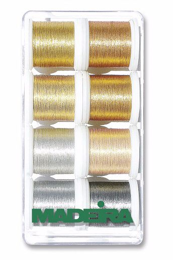 Madeira Metallic Smooth No.40 Multipack