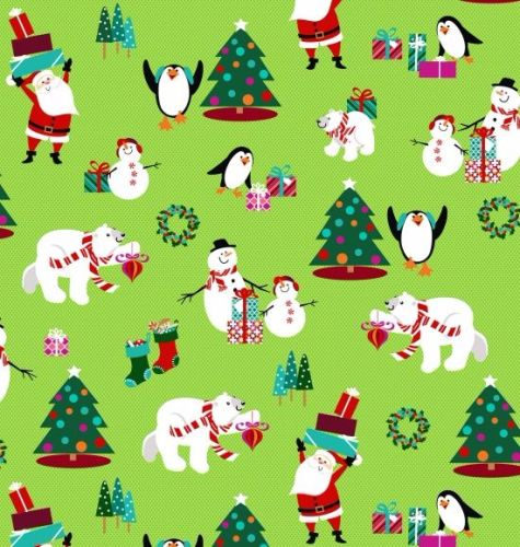 Sarah Frederking - Dear Santa - Green 3317-66