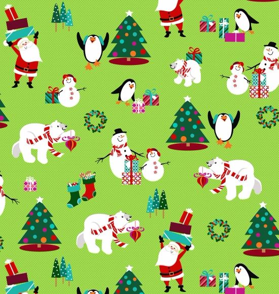 Sarah Frederking - Dear Santa - Green 3317-66