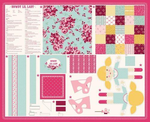 Moda - Howdy Panel - No. 20550-11 (Pink)