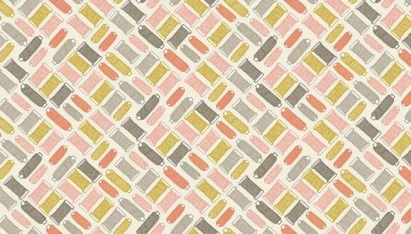 Makower - Handmade - No. 1889/P (Pink)