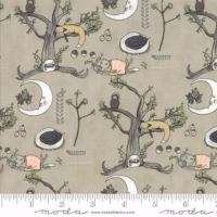 Moda - Hushabye Hollow - No. 49010-18 Woodland Scene (Moonbeam)