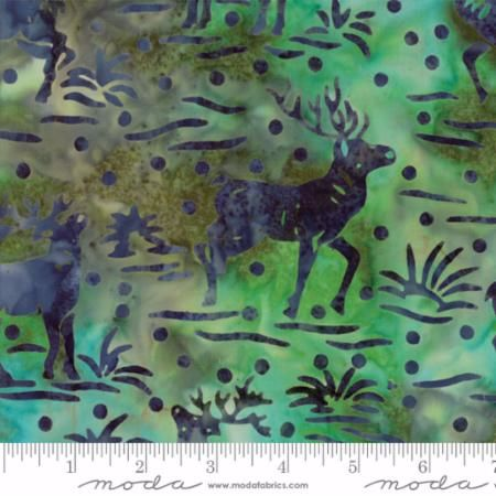 Moda - Bear Creek Batiks - No. 4344-25 (River)